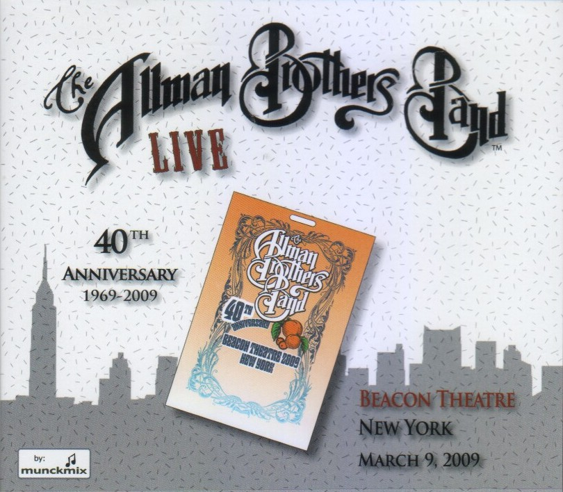 The Allman Brothers Band: Live Beacon Theatre 3/9/09