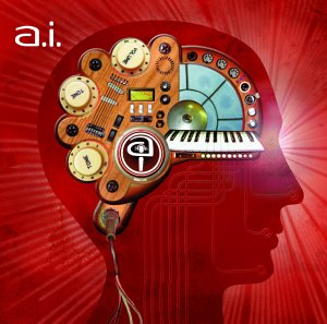 AI album cover , artificial intelligence