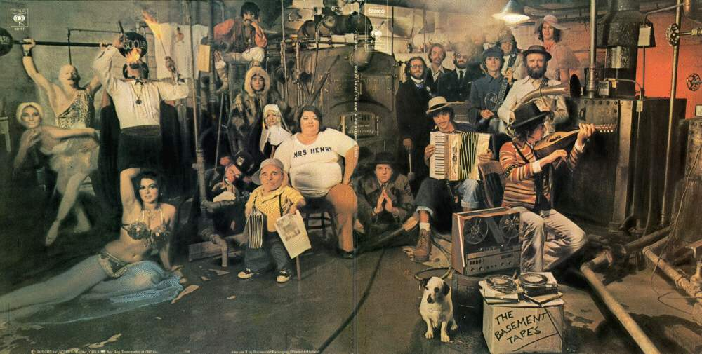 the basement tapes cover images pictures becuo