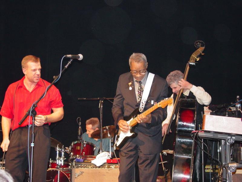 Levon Helm & the Barn Burners/ The Jim Weider Band, 12.31.2002