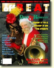 [Cover of OffBeat, December 1998]