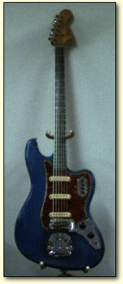 [The original Hawks Fender Bass VI]