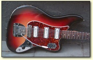 The Fender Bass Vi