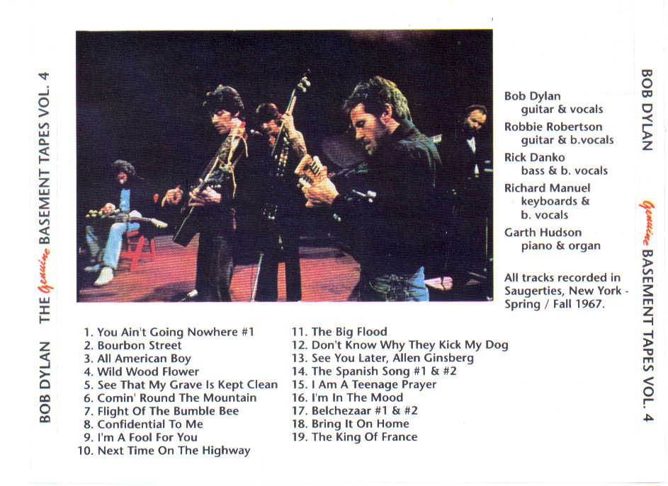 Bob Dylan And The Band: The Genuine Basement Tapes Vol.4