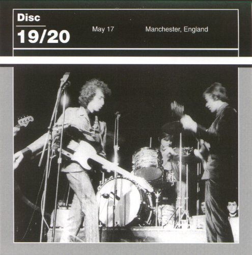 Bob Dylan in Manchester 1966 - Bootlegcover