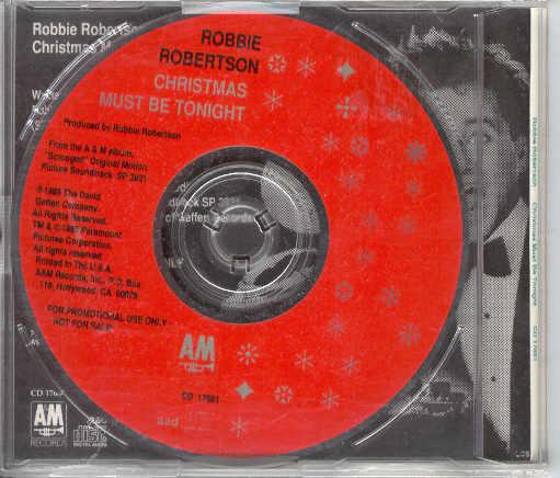 Robbie Robertson: Christmas Must Be Tonight
