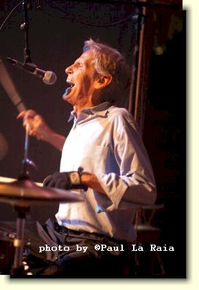 [Levon Helm, 2005. Photo by Paul La Raia.]