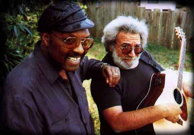 [Merl Saunders and Jerry Garcia]