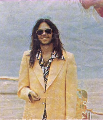 Neil Young 1974
