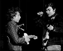 [Bob Dylan and Robbie Robertson, 1966]