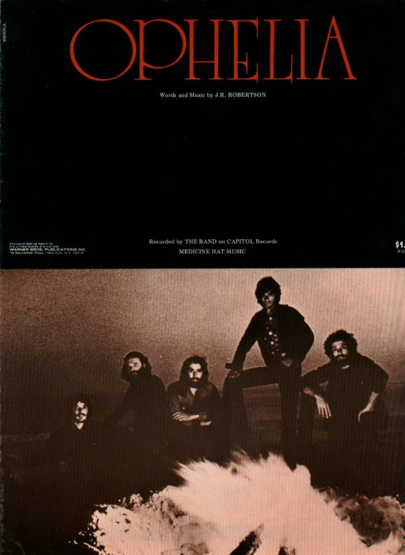 Sheet Music: Ophelia